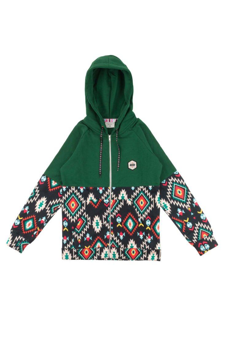 sekcja specjalna zamówienie sklep dyskontowy Bluza FemiStories TITO Black Aztec