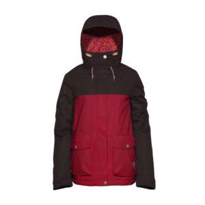 kurtka-narciarska-snowboardowa-clwr-crop-jacket-burgundy